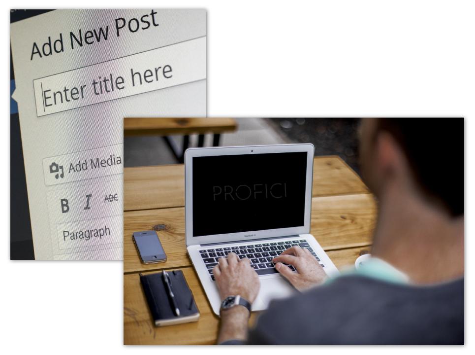 Content Creation Services PROFICI