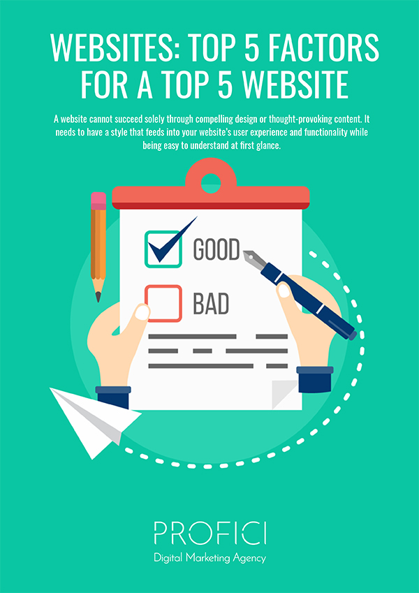 Websites Top 5 Factors PROFICI