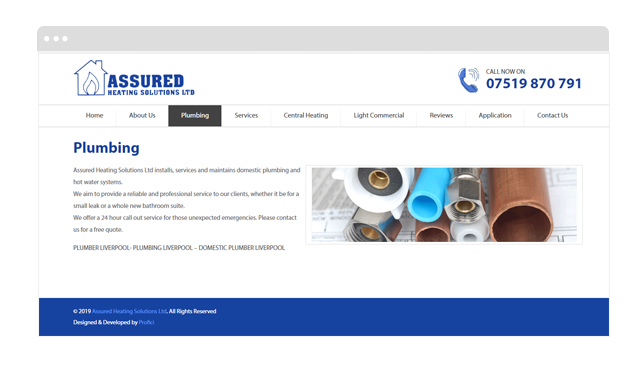 Assured Heating Solutions PROFICI